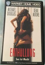 VHS Enthüllung - Sex ist Macht (1995) FSK 12 Thriller mit Michael Douglas