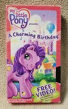 MY LITTLE PONY Vhs Video Tape A CHARMING BIRTHDAY 2003 Promo Tape