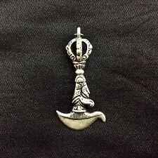 Dakini Knife Tibetan Buddhist Ritual Item Tibetan Silver Handmade from Nepal