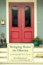 BRINGING HOME THE DHARMA - DANIEL J. SIEGEL JACK KORNFIELD (PAPERBACK) NEW