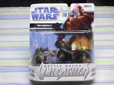 star wars battle pack unleashed jedi generals