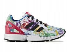 Dettagli su Scarpe Adidas ZX Flux Td Bambina Lacci Elastici Sport Tela Bianco 25Nuovo