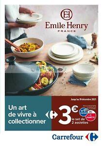Opération vignettes catalogue carrefour emile henry 200 vignettes.