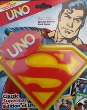 SUPERMAN CLASSIC UNO CARD GAME SPECIAL EDITION 2006 RARE BRAND NEW!