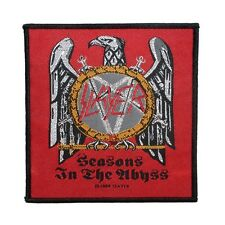 """Slayer: Seasons in the Abyss"" Metal Band Merchandise Sew On Applique Patch"