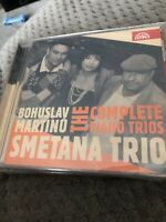 Smetana Trio - Bohuslav Martinu: The Complete Piano Trios New Sealed Cd