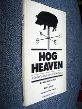 Hog Heaven, Guide to South Carolina Barbecue, 1979, Sandlapper Store, SC Bar-B-Q