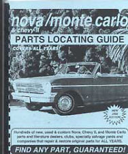 Find any Nova or Monte Carlo PART with this book