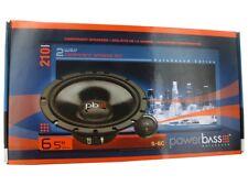 "PowerBass S-6C 6-1/2"" 6.5"" 2-Way 225 Watts Car Audio Component Speakers Pair"