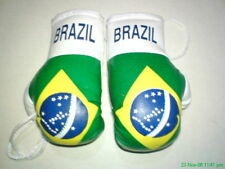 BRAZIL / BRAZILIAN FLAG Mini Boxing Gloves *NEW*