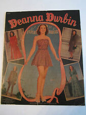 1940 DEANNA DURBIN PAPER DOLLS - AUTHENTIC  & UNUSED - COMPLETE - TUB RRR
