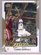 2008 Upper Deck MVP Leandro Barbosa Gold Script Card 098/100 Made