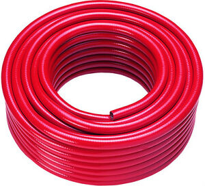 WFP Reinforced Microbore Water Fed Pole Hose 6mm id x 11mm od 100mtr Red