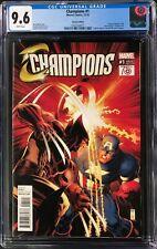 Champions #1 CGC 9.6 Arthur Adams 1:50 Incentive Variant Cover!