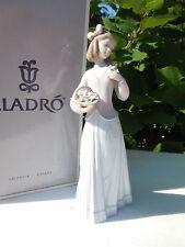 "Mint! Vintage Lladro ""Innocence in Bloom� #7644 Original Box Collectors Society"