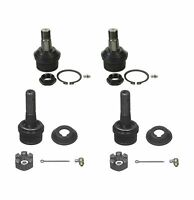 4 Pc Suspension Kit Upper/Lower Ball Joints for Dodge Ram 2500 Ford F-150 F-250