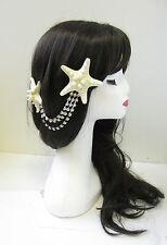Starfish Diamant Coiffure Sirène Coiffe Pince Cheveux Serre-tête Déguisement U43