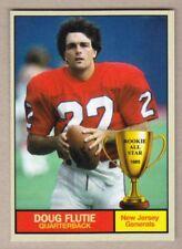 Doug Flutie '85 New Jersey Generals USFL Monarch Corona Rookie All Star #12