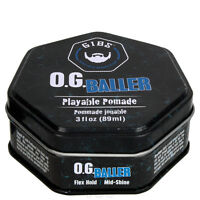GIBS Guys Into Beard Stuff O.G. Baller Playable Pomade 3 oz / 89 ml