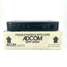 Vintage Adcom GFP-555 II Stereo Preamp Preamplifier W/ Box Tested & Working