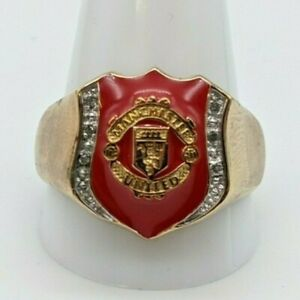 Collectable Manchester United Ring - Official Merchandise - Original Box & card