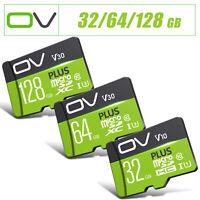 OV Plus TF Micro SD Memory Card SDHC SDXC Class 10 U1 U3 UHS-I V10 V30 Adapter
