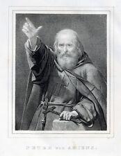 Peter Amiens Pierre l'Ermite Prediger Kreuzzug Seldschuken Sarazenen Jerusalem