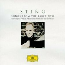 STING/EDIN KARAMAZOV 'SONGS FROM THE LABYRINTH' CD NEW!
