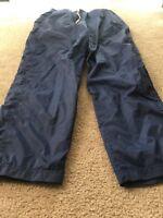 Foot Locker Mens Athletic Nylon Lined Pants Sz L Blue Clothes