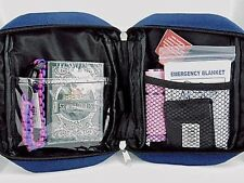 NAVY BELT BAG/WRIST-LET  PINK SURVIVAL 52 WILD EDIBLES PLAYING CARDS AND MORE!