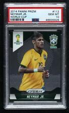 2014 Panini Prizm World Cup Neymar Jr #112 PSA 10 Rookie GEM MINT