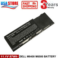 8M039 Battery for Dell Precision M6400 M6500 C565C G102C F678F KR854 5K145 9Cell