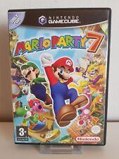 """Nintendo Gamecube Spiel """" Mario Party 7 + Mikrofon """"  A2079-2080"""
