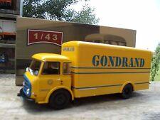 n° 60 LRS SOMUA JL 9  Transports GONDRAND  CAMIONS D'AUTREFOIS 1/43  Neuf boite