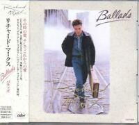 Richard Marx Ballads JAPAN CD with OBI TOCP-8336