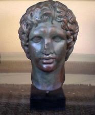 Alexander the Great Macedonian Bust- King Of Vergina - Bronze Effect