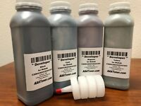 4 x Color Developer Refill for Minolta Bizhub C200 C203 C253 C353 (Repair Drum)