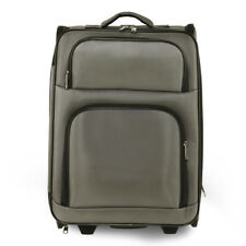 Grey Easy Travel Holdall Trolley Luggage With Wheels Designer Bag - AGT0016