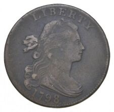 1798 Draped Bust Large Cent - Charles Coin Collection *086