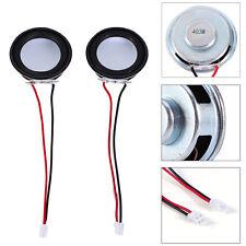 2pcs 1.57inch 40mm 4ohm 4Ω 3W Stereo Speakers Multimedia Amplifier Loudspeaker B