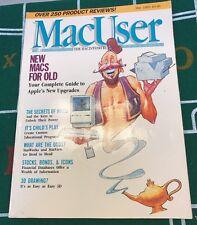 MacUser Vol 1 No 8 May 1986 Apple Macintosh Mac Computer Magazine