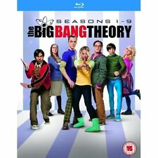 The Big Bang Theory Seasons 1 - 9 UK BLURAY