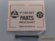 DRIVE SHAFT FOR AHM & RIVAROSSI 4-4-0 NEW P-155-027 SHAFT IS BLACK IN COLOR