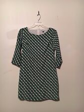 OLD NAVY GREEN CREAM GRAY FLORAL SEXY LINED DRESS WOMEN SIZE M FORMAL COCKTAIL