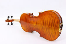Master 4/4 Violin flamed maple Stradi model very nice sound free case bow