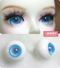 14mm  For BJD DOD AOD MK OK RD Doll Dollfie Glass Eyes Outfit blue 10
