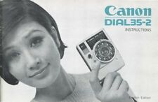 Canon Dial 35-2 Instruction Manual