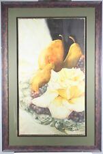 Still Life Jeanne Bonine Vintage Signed Limited Edition Original Watercolor