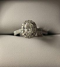 Charles & Colvard Oval Forever Brilliant 8x6mm Moissanite Ring, 1.84cttw DEW