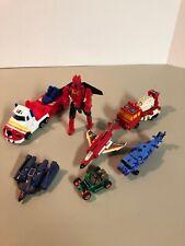 Transformers G1 & G2 Lot Optimus Prime Beach Comber Fireflight Quick Mix Vortex